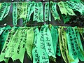 HK Admiralty Tamar Square Ribbon message 009 Green Sept-2012.JPG