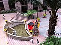 HK Sheung Wan Grand Millennium Plaza square Xmas tree is coming to town Nov-2012.JPG