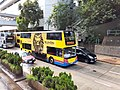 HK Tram 92 view 金鐘道 Queensway Admiralty CityBus 10 body ads The Lion King yellow October 2019 SS2.jpg