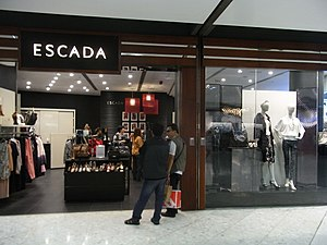 Escada - Escada store in Hong Kong