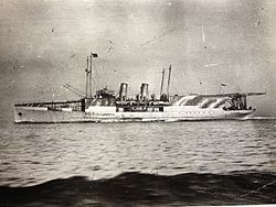 HMS Manxman pictured during her Great War service..JPG