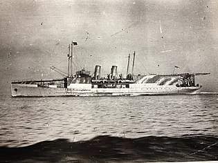 HMS Manxman pictured during her Great War service.