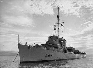 HMS Stockham 1944 IWM A 22515