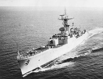 HMS Tenby (F65) - HMS Tenby (F65), 1963