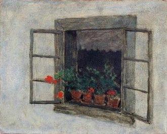 Herbert Masaryk - Image: H Masaryk Window