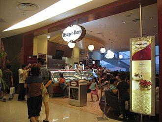 Häagen-Dazs - Häagen-Dazs' store in VivoCity, Singapore.