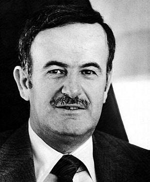 Syrian presidential election, 1985 - Image: Hafez al Assad portrait
