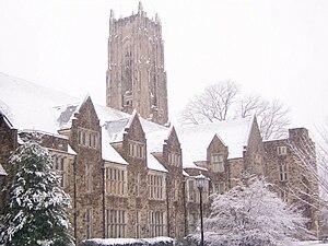 Rhodes College - Halliburton Tower and Palmer Hall