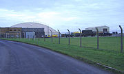 Hangar at RAF Lyneham - geograph.org.uk - 301279