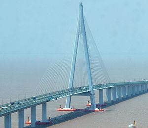 Hangzhou Bay Bridge - Hangzhou Bay Bridge (section)