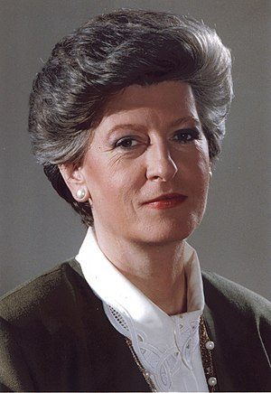 Hanna Suchocka - Image: Hanna Suchocka, Prime Minister of Poland 1992 1993