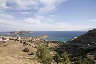 Schoinoussa - Image: Harbor Schinousa, Greece