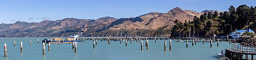 Harbour - Erskine Point in Lyttelton, New Zealand.jpg