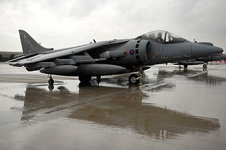 No. 1 Squadron RAF - A 1 Sqn. Harrier GR7 at Aviano Air Base, Italy, in March 2007.