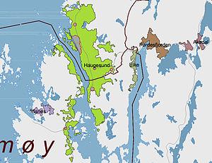 Haugesund - Urban area of Haugesund (2005)