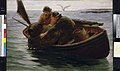 Hauling in the lobster pot RMG L8463.jpg