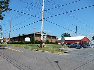 Hegins, Pennsylvania - Image: Hegins Fire Co, Hegins PA 01
