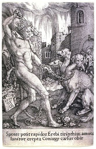Admeto - Hercules and Cerberus.