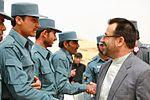 Helmand provincial governor attends AUP graduation 110407-M-SM240-339.jpg