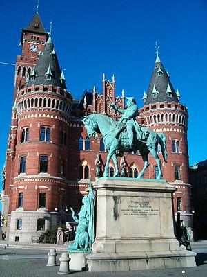 Magnus Stenbock - Equestrian Magnus Stenbock in Helsingborg