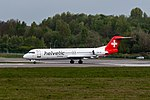 Helvetic Airways, HB-JVF, Fokker F100, 2017-04-22@LUX-109.jpg