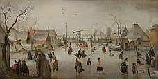 AVERCAMP Hendrick On the Ice ca. 1610