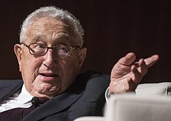 File photo of Henry Kissinger, 2016. Image: LBJ Library.