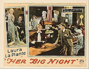William Austin (actor) - William Austin at left in Her Big Night (1926)