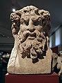 Hermès bachique retrouvée à Tolosa (Toulouse), cette double tête associe Bacchus et un Silène, MSR, Musée Saint-Raymond (7221257176).jpg