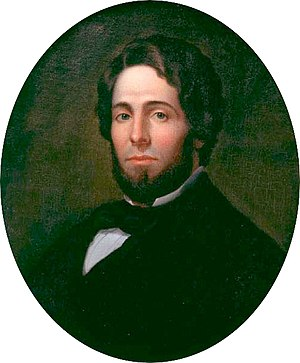 Herman Melville - Herman Melville, c. 1846–47. Oil painting by Asa Weston Twitchell