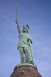 Arminius 1st century chieftain of the Germanic Cherusci tribe