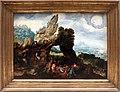 Herri met de bles detto il civetta, paesaggio con la predicazione del battista, 01.JPG