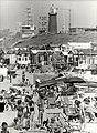 Het strand bij de Seinpostweg en het Zuiderhoofd, ziende naar het noorden. Aangekocht in 1982.JPG