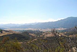 Ventu Park Open Space - Image: Hidden Valley as seen from Angel Vista Point in Newbury Park California