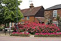 High St Cottages and Flowers - geograph.org.uk - 191606.jpg
