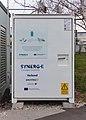 High performance charging station Verteilerkreis Favoriten at Ludwig-von-Höhnel-Gasse 2, Vienna, Austria-battery front PNr°0563.jpg