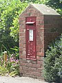 Highcliffe, postbox No. BH23 34, Nea Road - geograph.org.uk - 824139.jpg