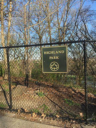 Highland Park (Brooklyn) - Image: Highlandpark Brooklyn