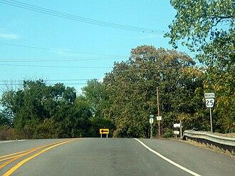 Arkansas Highway 25 - Highway 25 runs north in Conway