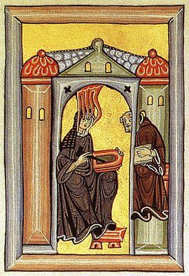 Hildegard, von Bingen, Heilige