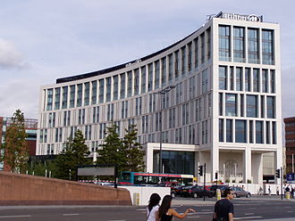 Liverpool One - The Hilton Liverpool is Liverpool ONE's largest hotel