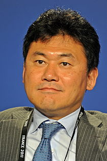 Hiroshi Mikitani at the 37th G8 Summit in Deauville 033.jpg