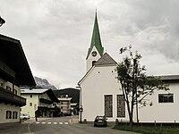 Hochfilzen, Katholische Pfarrkirche Unsere Liebe Frau Maria Schnee Dm64081 foto1 2012-08-07 17.40.jpg