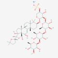 Holothurin 2D structure (PubChem).png