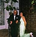 Hon. Joseph P. Kennedy and niece Ann Gargan at the Everglades Club for the St. Mary's Hospital ball.jpg