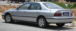 Honda Accord (fifth generation, first facelift) (rear), Serdang.jpg