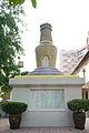 Hong Kong Kun Chung Temple, a stupa near the front entrance, Fanling, (Hong Kong).jpg