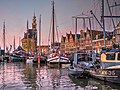 Hoorn Harbor Dawn (28288594445).jpg