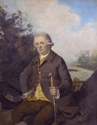 Horatio Walpole, 1st Earl of Orford - Portrait of Horatio Walpole, Earl of Orford, by Henry Walton