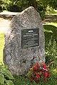 Horní Stropnice, Hojná Voda, pomník Františka Bindera (2020-07-07; 01).jpg